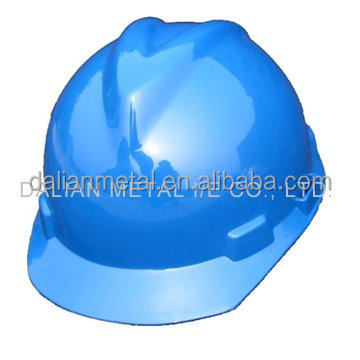 Outdoor working used PE safety helmet