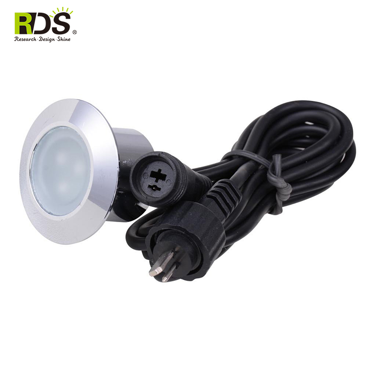 Inground mini outdoor lighting IP67 DC12V 1W led steaming deck light