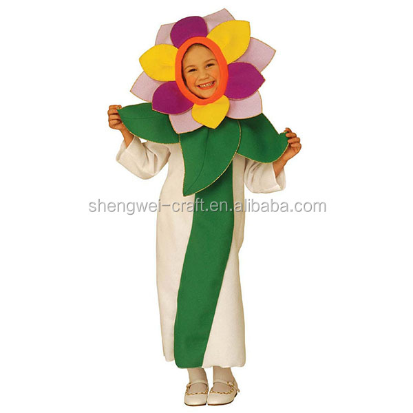 Factory hot sale flower fancy dress costumes