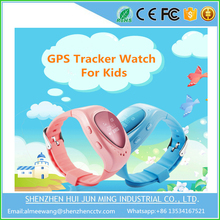 Fashion design SOS child kids GPS tracker positioning smart watch phone call watch