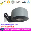 Self adhesive bitumen tape with high adhesion to pipe