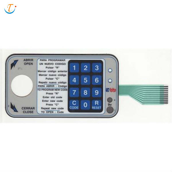 3M Adhesive polydome keyboard Membrane Switch