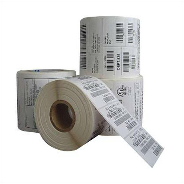 Adhesive sticker Blank Transfer Barcode Thermal Label