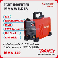 Hot sell good quality CE CCC cheap portable mini MMA 140 welding machine