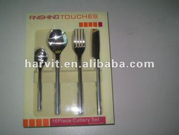 16pcs Stainless Steel Flatware