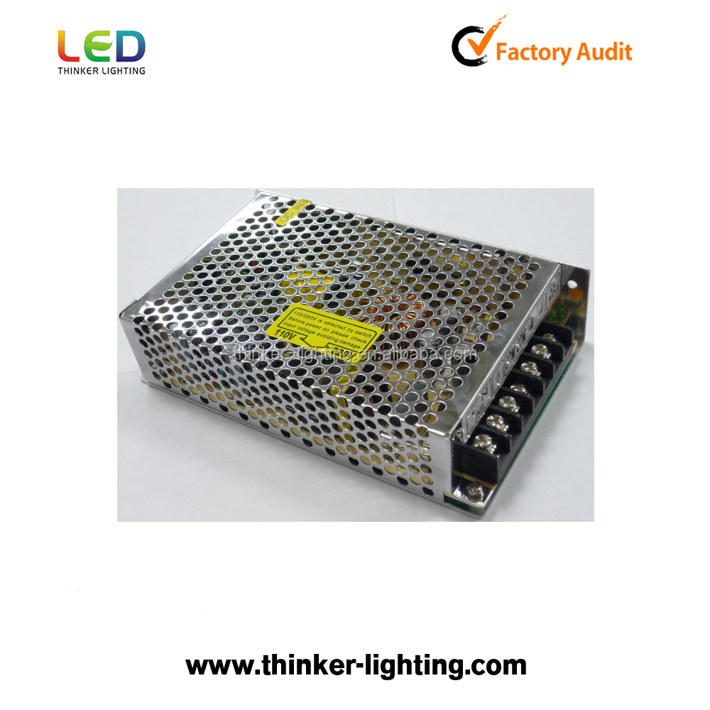 Thinker lighting factory 12V 8.5A /4.5A /20A switching power supply 100W with CE ROHS approved