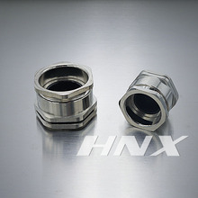 HNX CE,ROHS Approved Single Compression Brass Cable Gland DCG13.5
