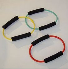 latex o-ring cord exerciser