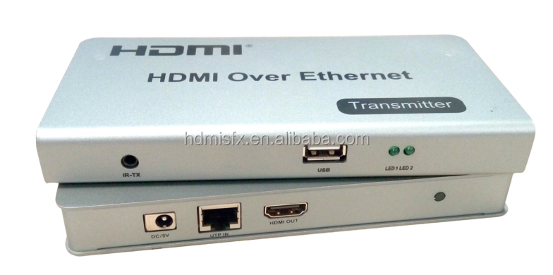 120M HDMI KVM IR Remote Extender Over IP LAN or CAT5e/6