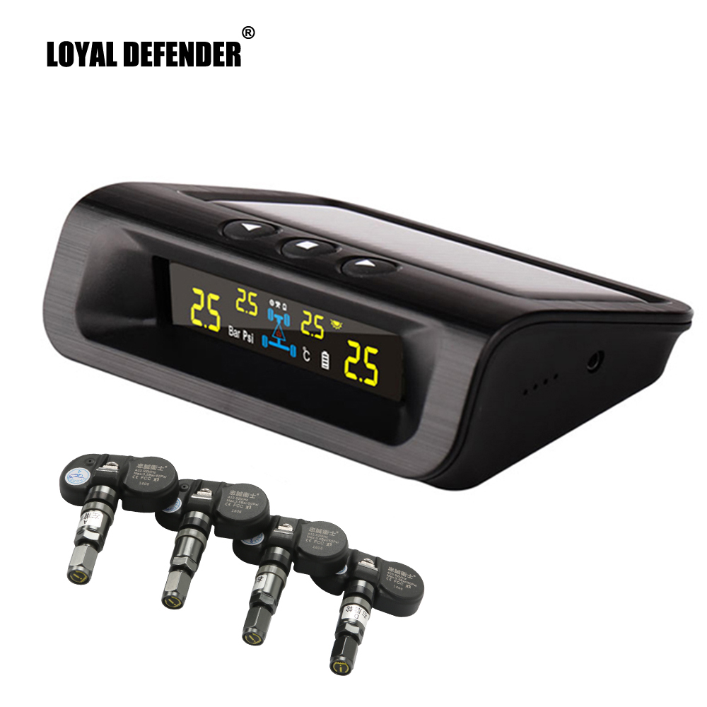 Hot selling solar power car tpms, tire pressure monitoring system Loyal Defender Security