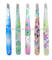 laser flower fashion eyebrow tweezer TW200