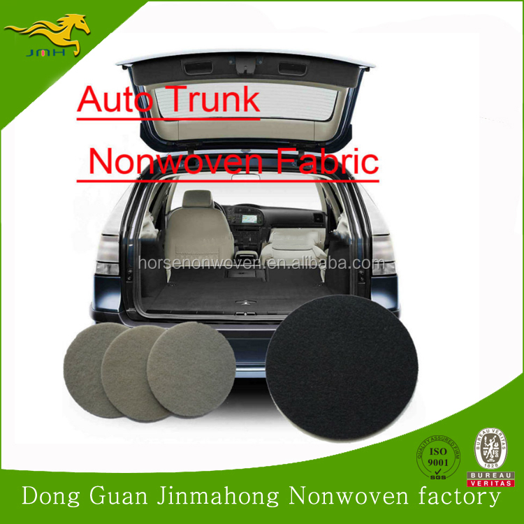 polyester needle punch felt nonwoven fabric for car automobile interior decoration
