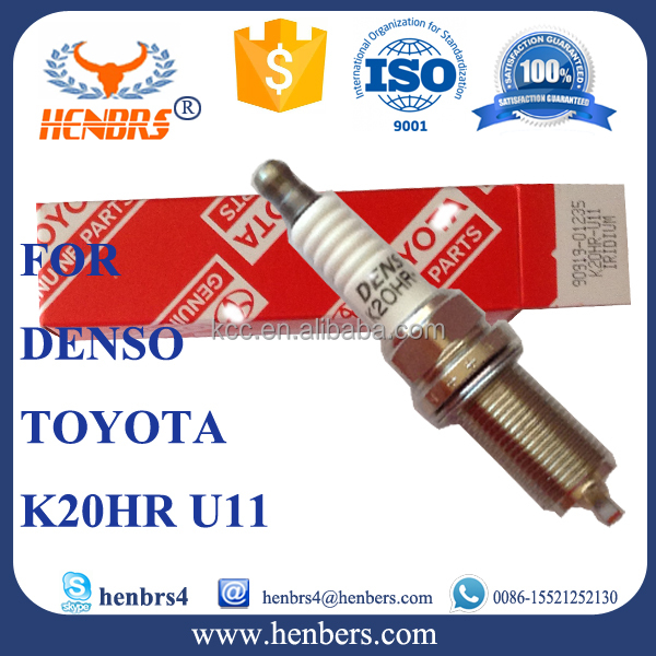90919-01240 SK16R11 iridium spark plugs manufacturers cross reference to NGK IFR5A-11 for Toyota Camry