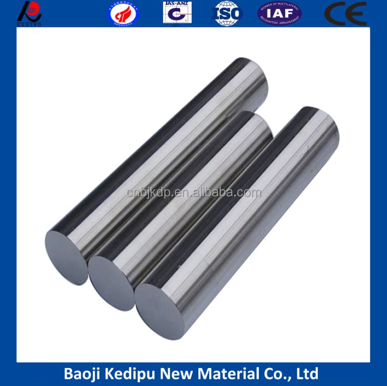 99.95% purity Hafnium metal rod price for sale from China supplier