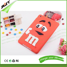 3d cartoon silicone tablet case for ipad mini, for ipad silicone case