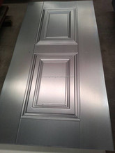 moulded metal door skin 0.35-1.2 mm cold rolled steel sheet