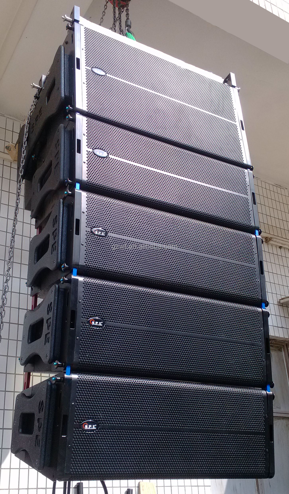 "10"" SPE Active Line Array Outdoor PA Sound System LA-5AD"