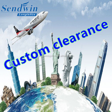 China Shenzhen freight forwarder import and export custom clearance best service