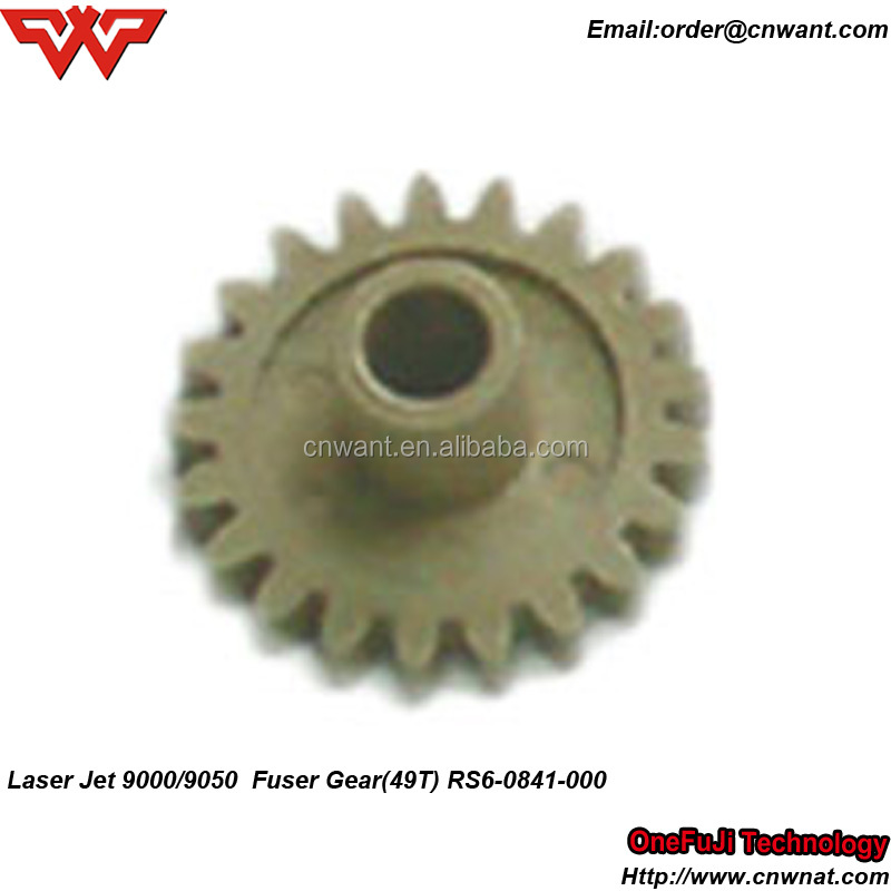 RS6-0841-000 Fuser Gear 49T For HP LaserJet 9000 9050 9040 Laser Printer Spare Parts Fuser Gears