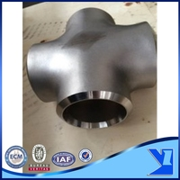 professional supplier stainless steel 304 cross tee