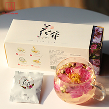 Herbal Tea Drink Formula Flowering Tea Bags Blooming Tea Gift Box