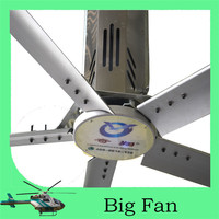 380v energy saving High Volume Low Speed cooling ceiling axial fan for automobile manufacturing with Germany Bauer motor
