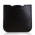 Portable Mini Folding Makeup Mirror 3.14 Inches PU Leather Compact Pocket Mirror for Travel ( Black Color )