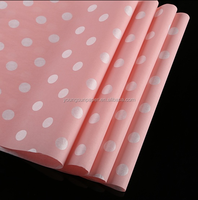 red new brands names tissue paper gift tissue paper customized logo tissue paper