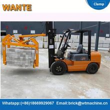 WANTE MACHINERY block making machine clamp from direct supplier
