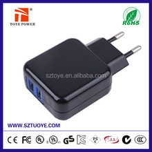 Made in China ! Factory supplied mini dual usb 5v 750ma charger