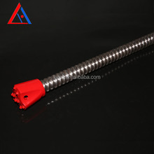LUHUI mining roof support grouting self drilling hollow thread bar bolt