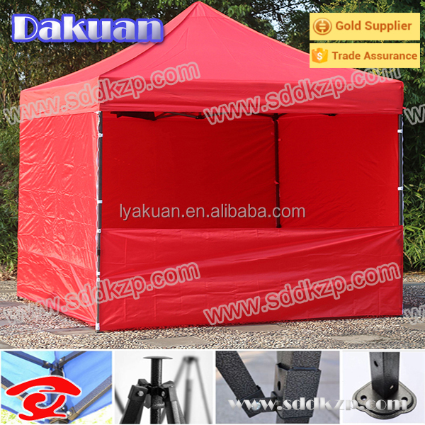 Large 10x10 Gazebo Steel Frame Arabic Tent with Half Wall