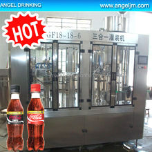 Automatic Energy / Gas Drink Filling / Bottling Plant, 0.25-2Liter, PET or Glass Bottle