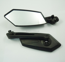 NEW UNIVERSAL MOTORCYCLE REAR VIEW MIRRORS MIRROR FOR HONDA SUZUKI YAMAHA