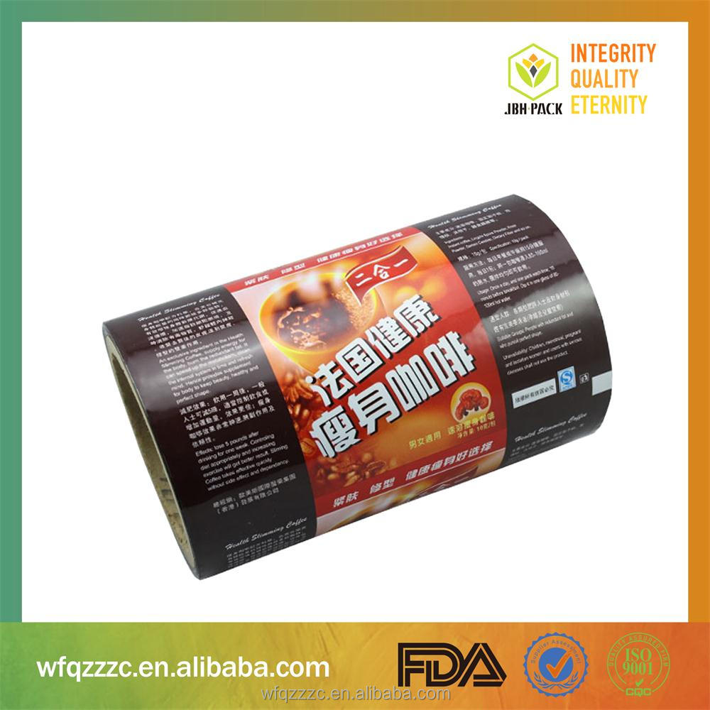 High Quality Coffee Bag OPP Packing Plastic Film Rolls