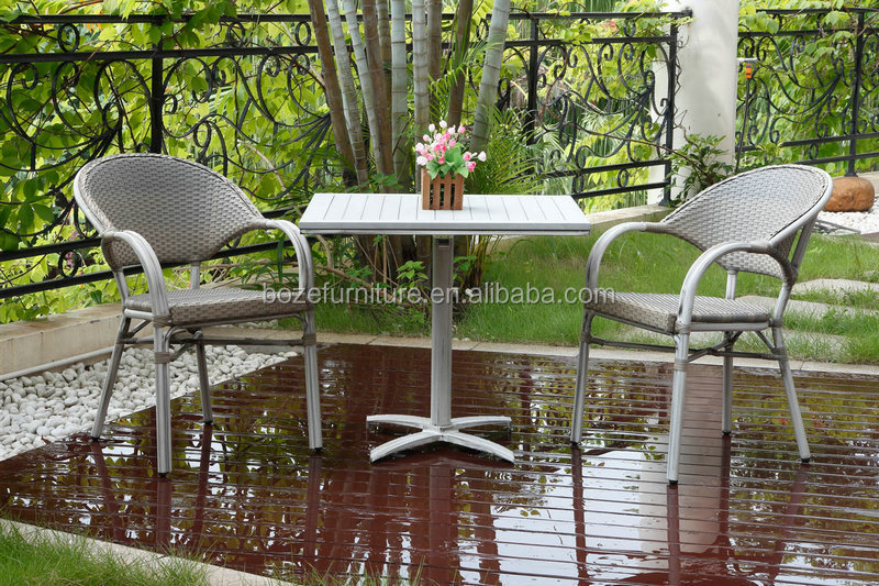 HOT OUTDOOR BISTRO SET, RATTAN FOLDING DINING FURNITURE