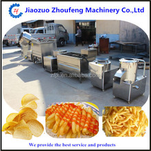 Reasonable price Small Scale Potato Chips Production Line machinery (skype:sophiezf3)