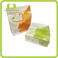 Gravure Multicolor Printing Flat Bottom Plastic Bag For Dry Cat Food Packaging
