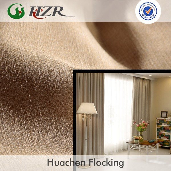 Hotel and Home Interior Furnishing Blackout Fabric for Curtains and Draperies