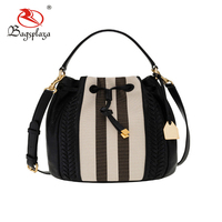 Hot Selling low price China Manufacturer no brand real leather handbags