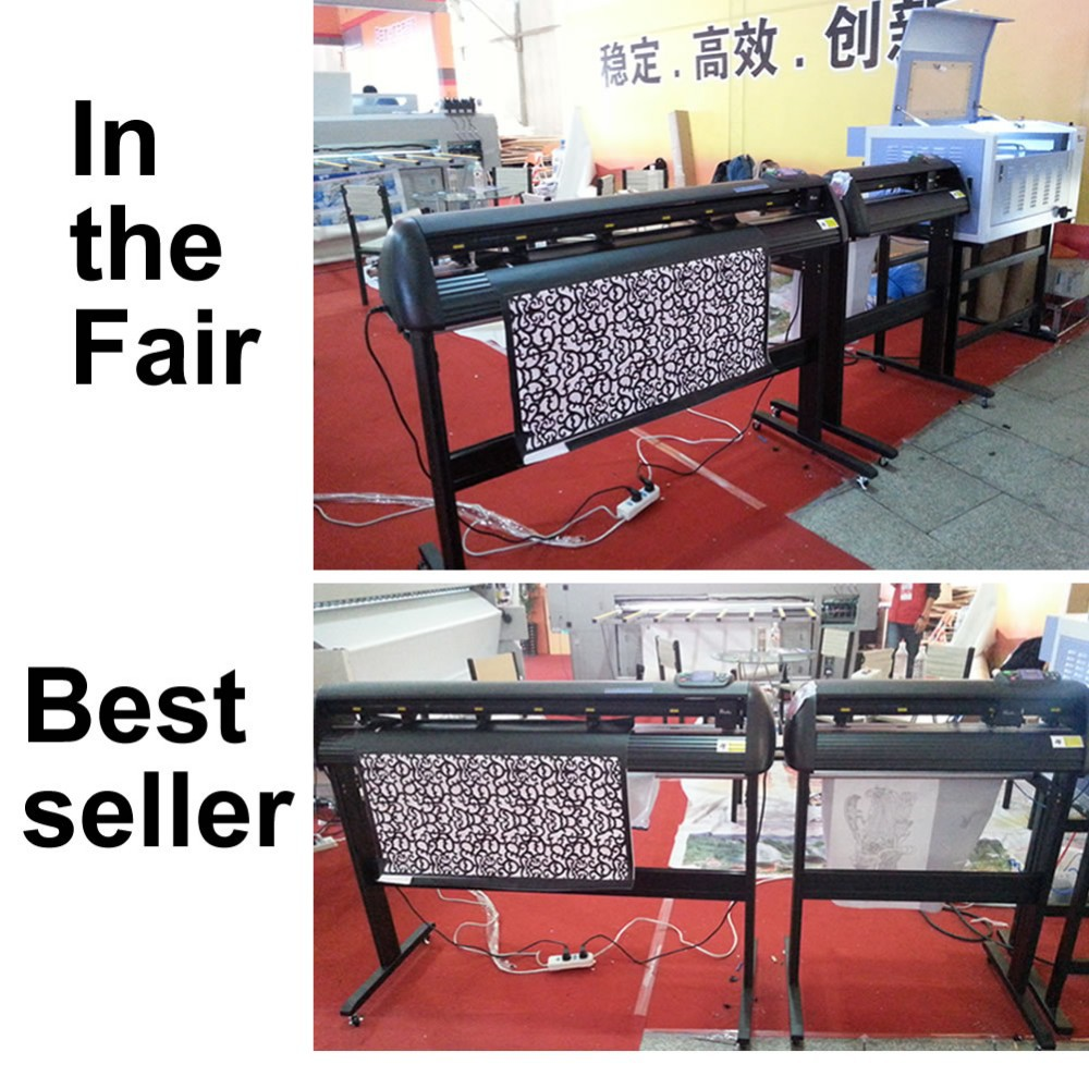 Factory supply cloth cutting plotters professional sticker machinecloth cutting plotters k48 with CE