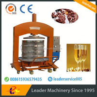 Leader hydraulic press machine for ice grape juice with service overseas