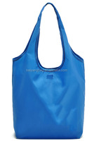 Wholesale cheap 210D nylon foldable shopping bag, folding shopping bag