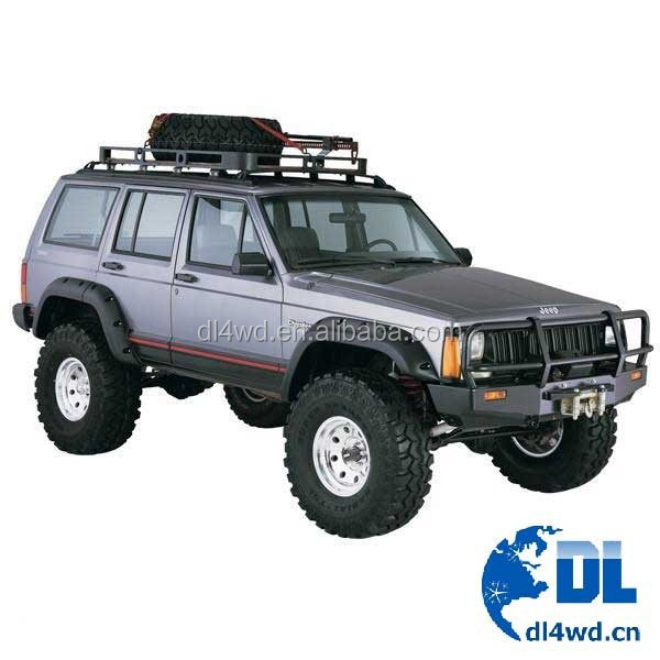 abs fender flares pocket style wheel arch fender flares for jeep xj cherokee