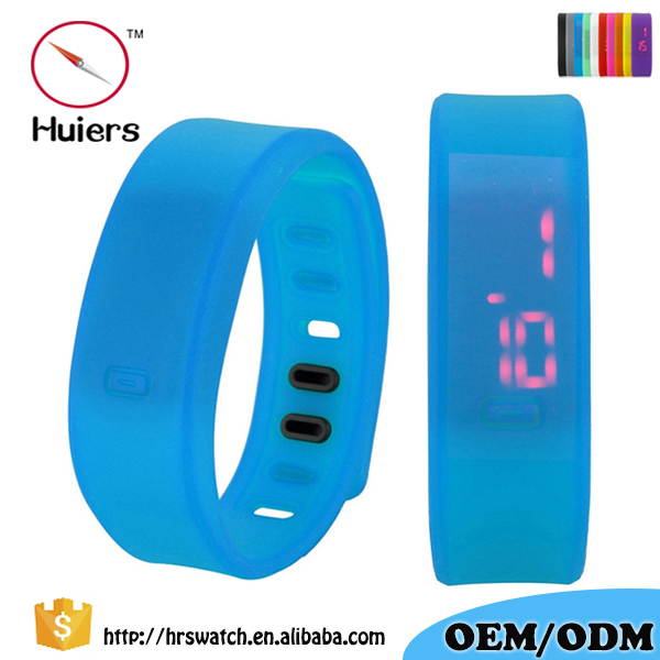 Factory OEM Promotion Silicone strap sports wrist watch for Children Student