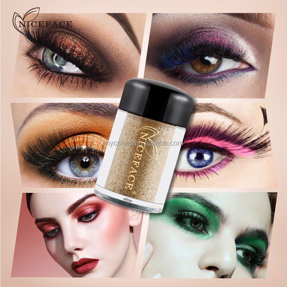 2017 Christmas Natural Pigment Shimmer Glitter Eye Shadow Powder