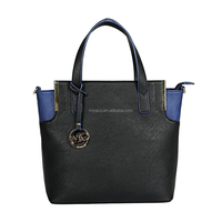 PU leather lady fashion handbag/newest pictures women fashion tote bag