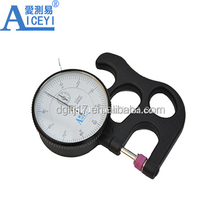 high accuracy paper dial thickness gage thickness gauge