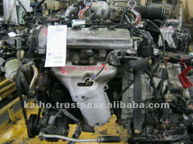 USED ENGINE TOYOTA 5E-FE QUALITY CHECKED BY JRS (JAPAN REUSE STANDARD) AND PAS777 (PUBLICY AVAILABLE SPECIFICATION)