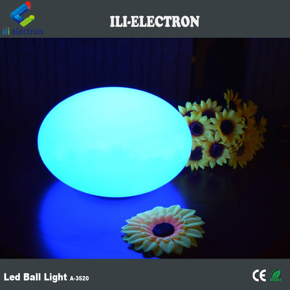Energy saving LED flashing light up fat balls / outdoor party decorative LED round ball light